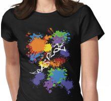 ker-SPLAT!-For Dark Shirts Womens Fitted T-Shirt