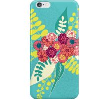 Lovely blue flowers bunch iPhone Case/Skin