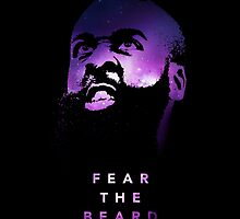 """James Harden """"Fear The Beard"""" by owned"""