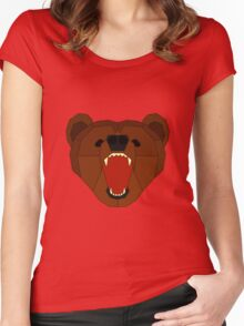 Growling Burr Women's Fitted Scoop T-Shirt