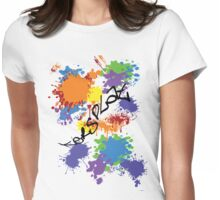 ker-SPLAT!-For Light Shirts Womens Fitted T-Shirt