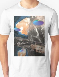 Trip to space Unisex T-Shirt