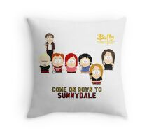 Buffy the Vampire Slayer as South Park Throw Pillow