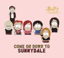Buffy the Vampire Slayer as South Park One Piece - Long Sleeve