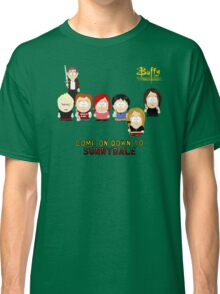 Buffy the Vampire Slayer as South Park Classic T-Shirt