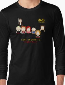 Buffy the Vampire Slayer as South Park Long Sleeve T-Shirt