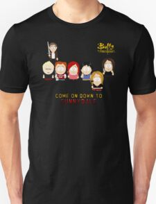 Buffy the Vampire Slayer as South Park Unisex T-Shirt