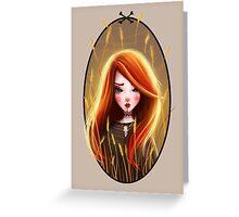 Raychel In The Rye Greeting Card