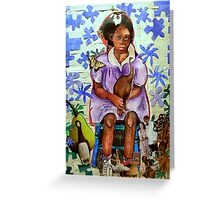 My name is MOA Greeting Card