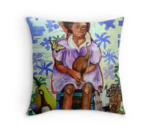 My name is MOA Throw Pillow