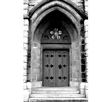 Church Entrance Photographic Print
