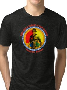 Billy Jack's School of Self Defense Tri-blend T-Shirt