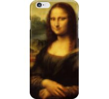 Pixel Mona Lisa iPhone Case/Skin