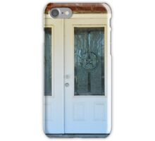 Texas Star Double Doors iPhone Case/Skin