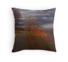 Fall Weather Throw Pillow