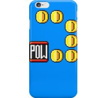 POW then Coins iPhone Case/Skin