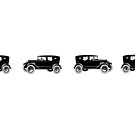 Vintage Car Black Ford T-car by coralZ