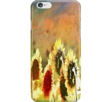 Sunflower Expressions iPhone Case/Skin