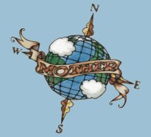 Mother Earth Tattoo Art Kids Clothes