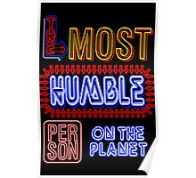 Most Humble Person Poster