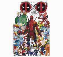 Deadpool and Unicorn Marvels Kids Clothes