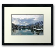 Creativity Is The Key To Greatness Framed Print