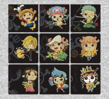 Chopper Straw Hats One piece by rajhe