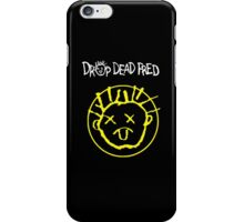 Drop Dead Fred Smiley Face iPhone Case/Skin