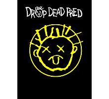 Drop Dead Fred Smiley Face Photographic Print