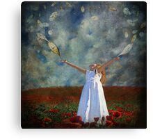 Somewhere Out There Is The Future Canvas Print