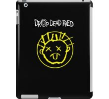 Drop Dead Fred Smiley Face iPad Case/Skin