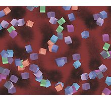 Christmas Cubes Photographic Print