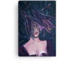 Lily Lady Canvas Print