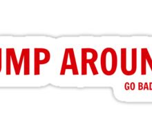 Jump Around (Go Badgers!) Sticker
