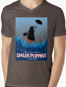 Dalek Poppins  Mens V-Neck T-Shirt