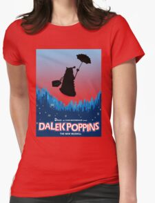 Dalek Poppins  Womens Fitted T-Shirt