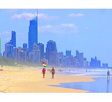 View to Surfers Paradise Photographic Print