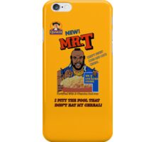Mr. T Cereal  iPhone Case/Skin