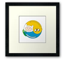 Adventurer Balance Framed Print