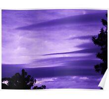 Strange Cloud Formation Poster
