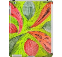 Abstract Vegetable Design iPad Case/Skin