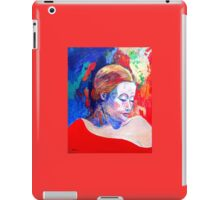 Emily and her Red Shawl iPad Case/Skin