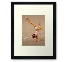 Just For The Joy Of It Framed Print
