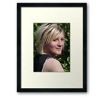 Spring Smile Framed Print