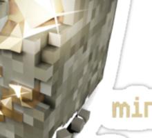 Minecraft diamond Sticker