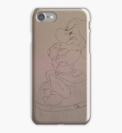 Grumpy dwarf iPhone Case/Skin