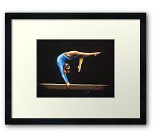Show Of Strength Framed Print