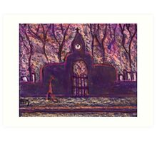 The Cemetery Art Print