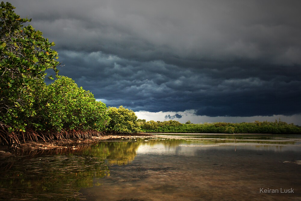 Awaiting a drenching... by Keiran Lusk