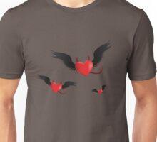 Evil hearts Unisex T-Shirt